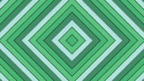 Abstract Shapes Tunnel Rhombus Colorful Stripes Seamless Looping Background Animation