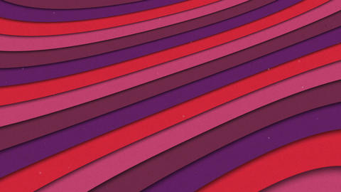 Abstract Shapes Colorful Stripes Waves Seamless Looping Animated Texture Animation