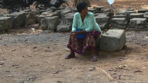 SIEM REAP, CAMBODIA – MAY, 1, 2016: visitor visit Angkor Footage