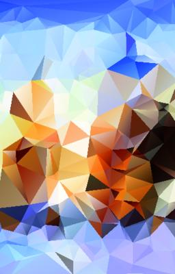 Abstract polygonal background ベクター