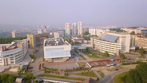 Russia, Krasnoyarsk. Siberian Federal University, MULTIFUNCTIONAL COMPLEX, From ビデオ