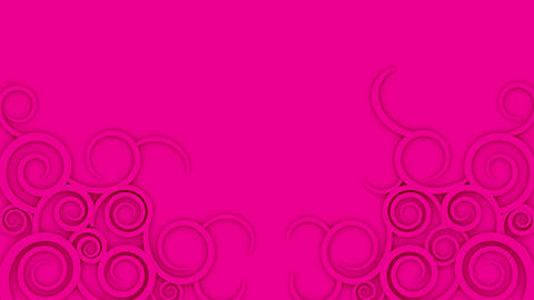 Abstract background. Growing illustrations of curls Animation