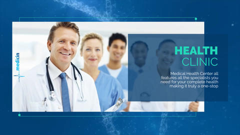 Medical Opener - Medical Promo After Effects Template