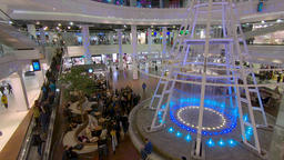 Interior of shopping center in Szczecin, Poland Archivo