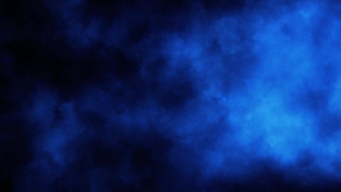 Blue Smoke Fog Clouds Loop Motion Background Animation