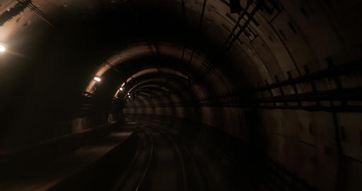 subway tunnel shot in singapore Live影片