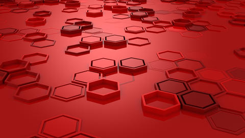 Background of Hexagons GIF