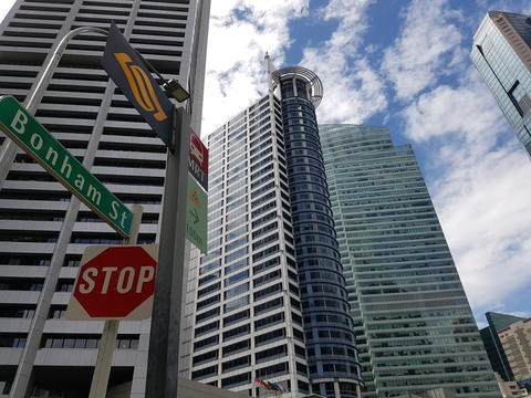 Singapore Buildings in Central Business District フォト