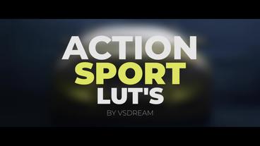 Action Sport LUT's Premiere Pro Template