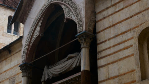 view on church of Santa Maria Antica is a Romanesque church located in the Footage
