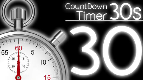 CountDownTimer 30seconds Animation