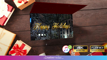 New Year Card Animation - After Effects Template After Effects Template