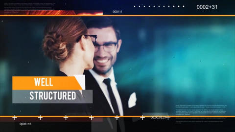 Dynamic Corporate Promo After Effects Template