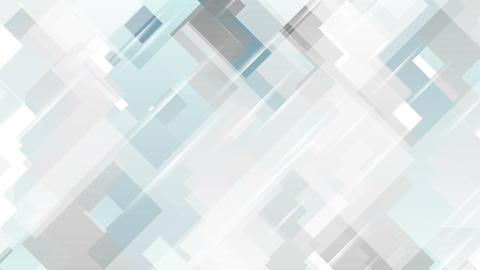 Blue grey tech minimal geometric motion design Stock Video Footage