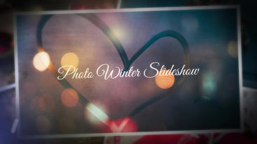 Winter Photo Gallery Plantilla de After Effects