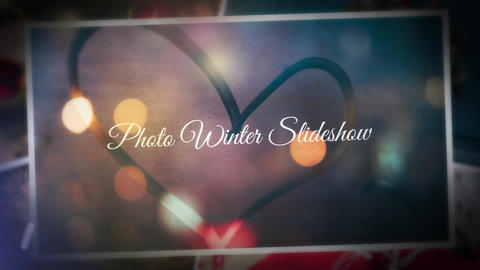 Winter Photo Gallery After Effects Template