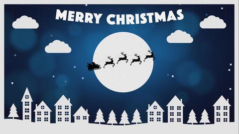 Christmas Paper Village Animation Animation