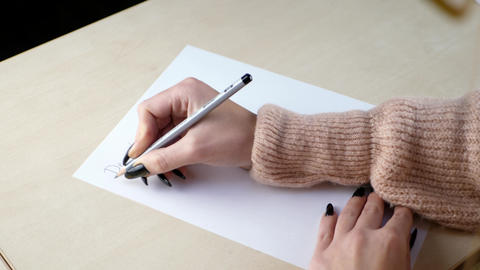 Letter and writing concept ビデオ