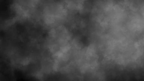 White Smoke Fog Clouds Loop Motion Background Animation