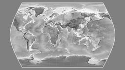 Angola. Times Atlas. Grayscale Animation
