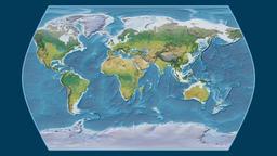Bolivia. Times Atlas. Topographic Animation