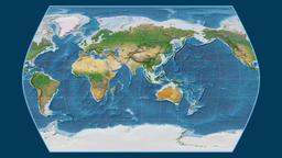 Chad. Times Atlas. Satellite Animation