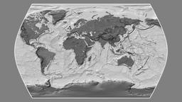 Brazil. Times Atlas. Bilevel Animation