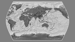 Chad. Times Atlas. Bilevel Animation