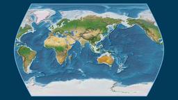Congo. Times Atlas. Satellite Animation