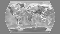 Ecuador. Times Atlas. Grayscale Animation