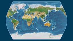 Egypt. Times Atlas. Satellite Animation