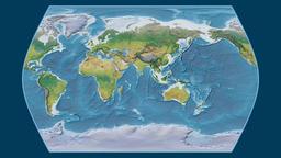 Ethiopia. Times Atlas. Topographic Animation