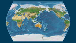 Finland. Times Atlas. Satellite Animation