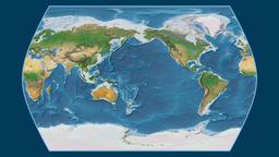 India. Times Atlas. Satellite Animation