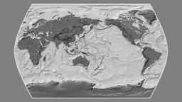 Iran. Times Atlas. Bilevel Animation