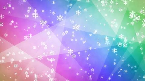 Winter background loop 25 Footage