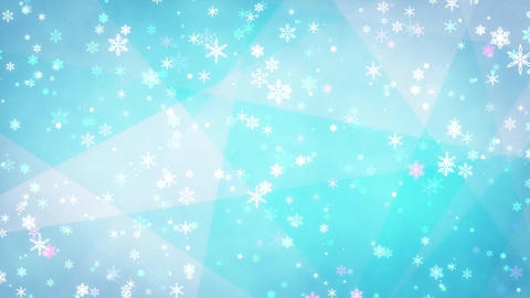 Winter background loop 27 Footage