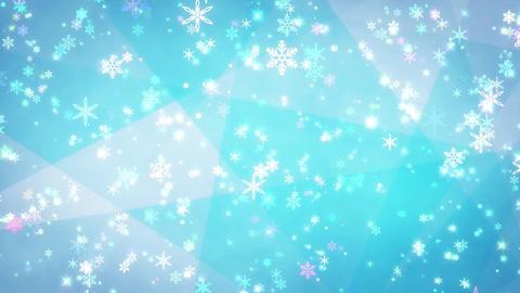 Winter background loop 37 Footage