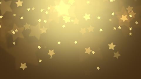 Falling Stars Christmas Background Animation