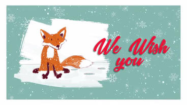 Winter Illustrations - Christmas Wishes After Effects Template