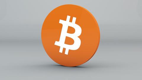 Bitcoin Crypto Currency Logo 3D Animation Animation