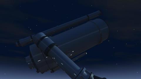Large Space Telescope 3D Animation Animation