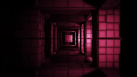 4K Sci-FI Minimalist Creepy Cube Labyrinth Fantasy 3D Animation Animation