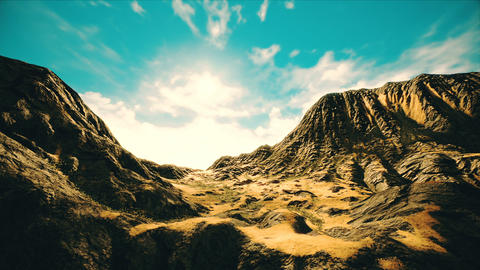 Arid Valley 3D Animation Animation