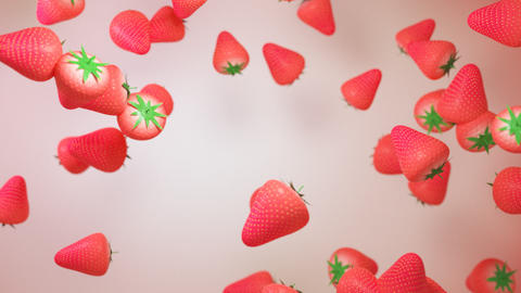 strawberry particle Animation