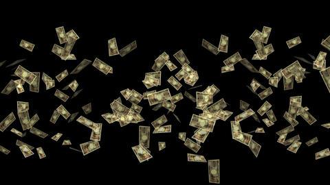 bill wallet Money 10,000 yen Japanese yen cracker party Animation
