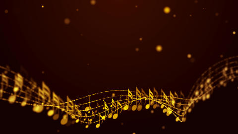 Music Notes Background 03 GIF