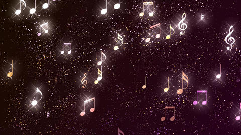 Music Notes Background 04 Animation