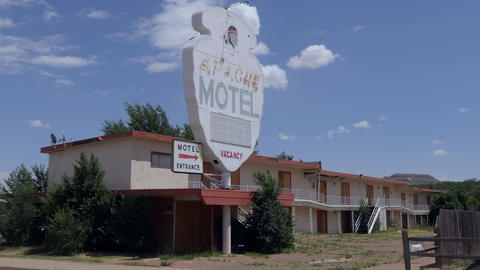 5 Abandoned Motel On Route 66 New Mexico United States Live Action