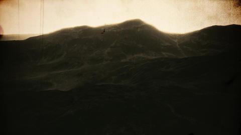 4K Beautfiul Highlands Cinematic Aerial Vintage 3D Animation Animation